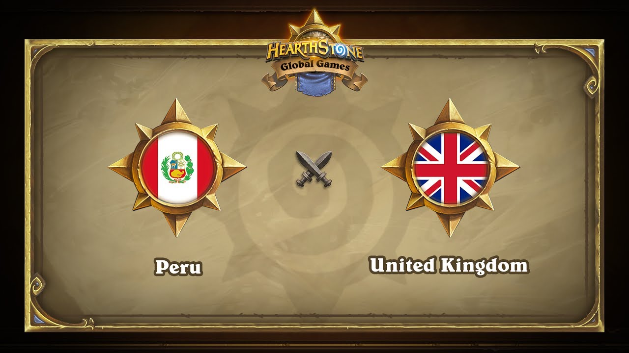 Перу vs Великобритания | Peru vs United Kingdom | Hearthstone Global Games (14.06.2017)