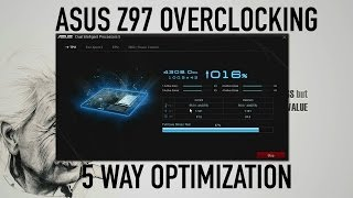 asus z97 overclocking 5 way optimization
