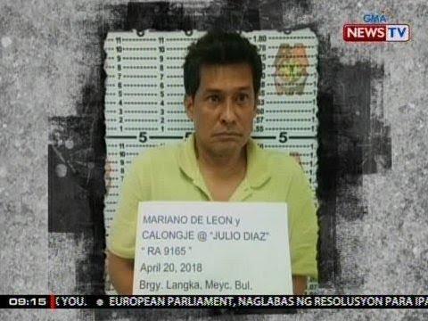 SONA: Aktor na Julio Diaz at kaniyang driver, arestado sa operasyon kontra-droga