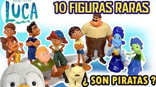 🌊 LUCA 10 Figuras ¿ piratas ? Coleccion My busy book Disney Pixar libro Amazon || Pachi y sus amigos