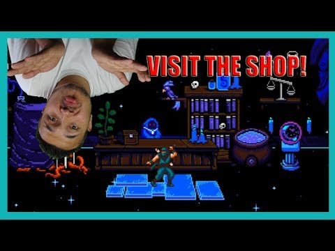 Now The Creepy Shop! The Messenger First Playthrough Part 2
