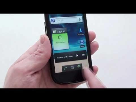 Samsung Nexus S - видео обзор GT-I9023T от Video-shoper.ru