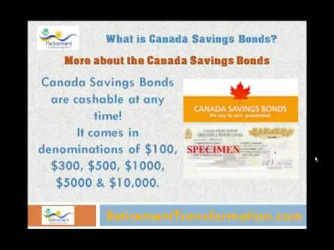 What is Canada Savings Bonds? - Retirement Education Center!