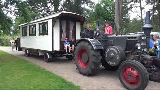 Ursus C-451 met woonwagen Peter & Marion