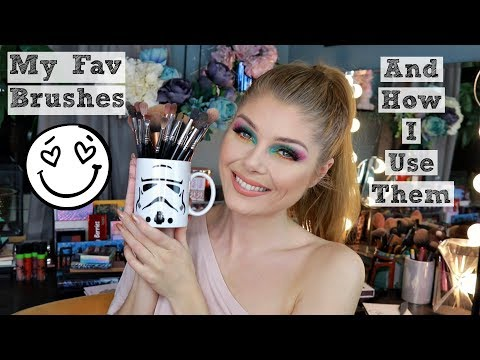 My Favorite Makeup Brushes & How I Use Them