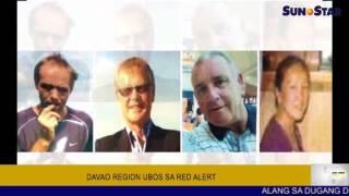 Davao Region ubos sa red alert
