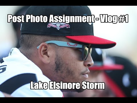 Post Photo Assignment - Vlog #1 (Lake Elsinore Storm)