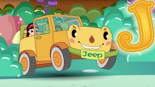 Letter J - Olive and the Rhyme Rescue Crew | Learn ABC | Sing Nursery Songs