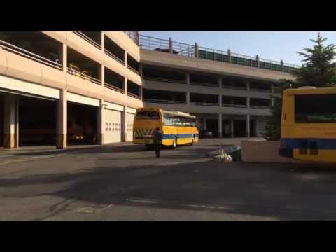 SFS Daewoo BH119 entering the SFS bus garage - YouTube