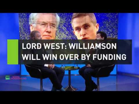 Admiral Lord West: Williamson will win over military with funding