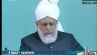 Проповедь Хазрата Мирзы Масрура Ахмада, (04-06-10) часть 3