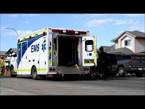 2 Vehicle Collision - 126 Avenue and 105 Street - Grande Prairie, AB