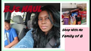 Shop With Me BJs Haul Large Family Shopping with Kids