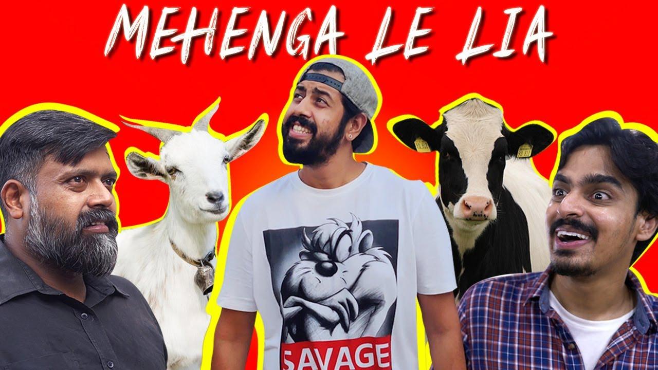 MEHENGA LE LIA | BAKRA EID 2020 | Comedy Skit | Bekaar Films