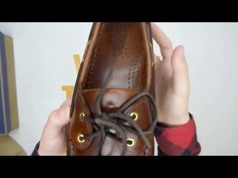 Sebago Schooner Oiled Waxy - Brown - Walktall | Unboxing | Hands on