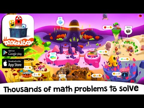 DragonBox Big Numbers - Add Minus Subtract - Education Application