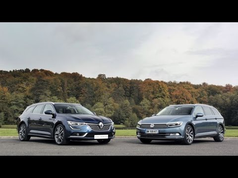 La Renault Talisman Estate Face La Volkswagen Passat Sw Youtube