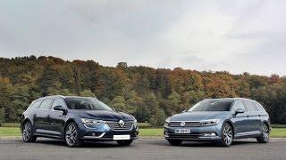 La Renault Talisman Estate face à la Volkswagen Passat SW