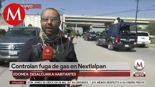 Desalojan a habitantes por fuga de gas en Nextlalpan