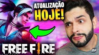 Nova atualização do free Fire hoje live 2