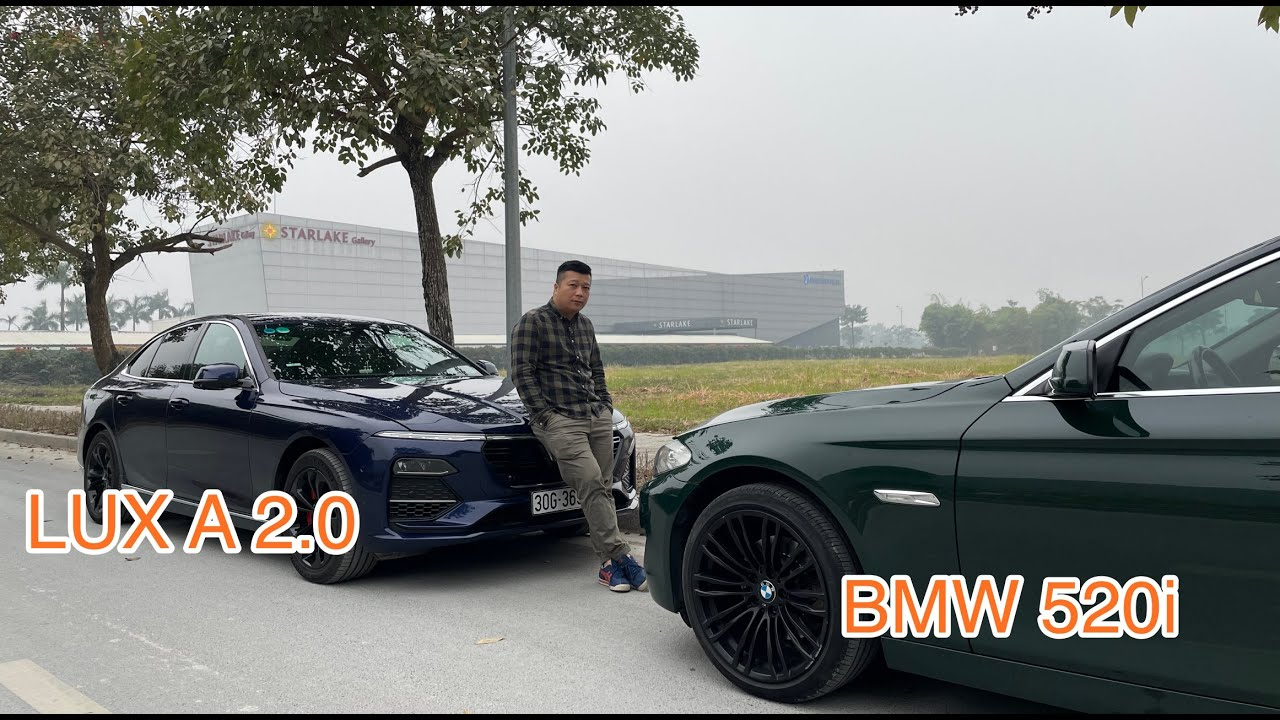 Đông cơ N20 của BMW bền lắm, anh em yên tâm đi Vinfast LUX A 10 năm cũng không cần đổi xe.