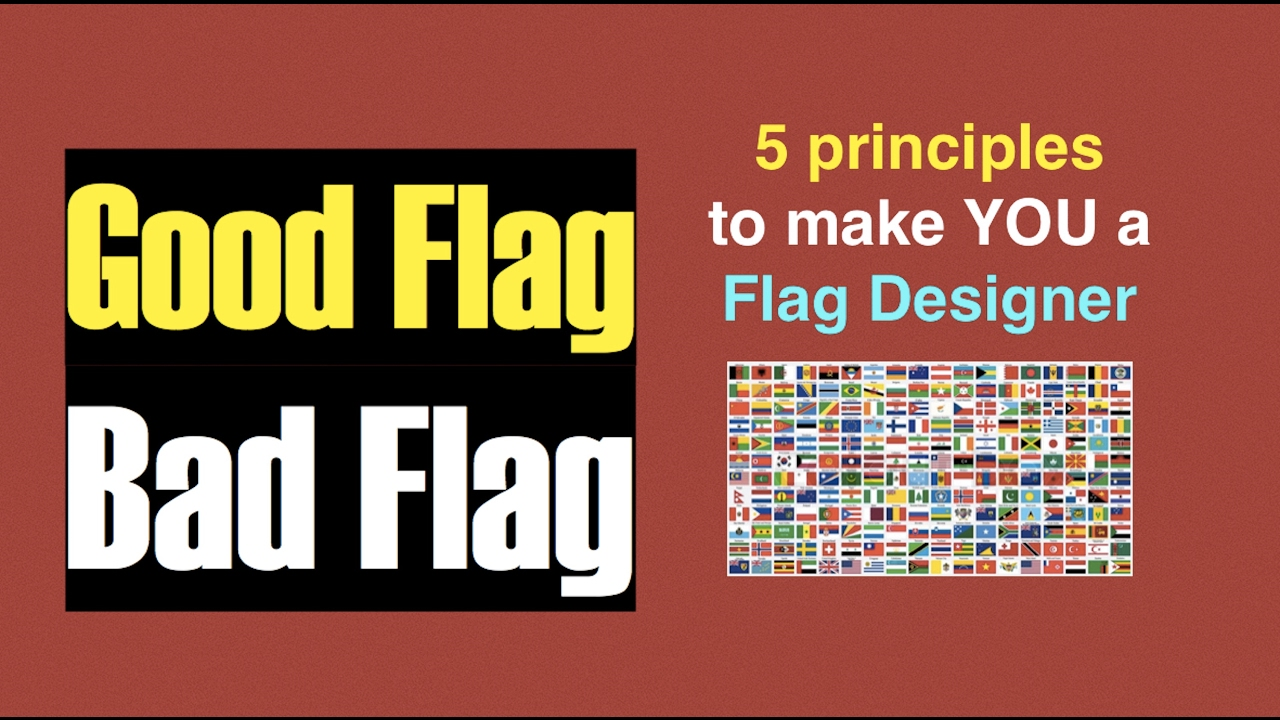 5 principles to design a good Flag