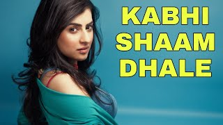 DJ KHABI SHAAM DHALE 🎧💤 INDIA MUSIK REMIX