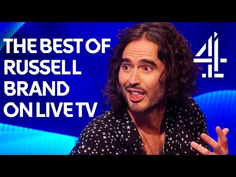 All the times Russell Brand has trolled live TV