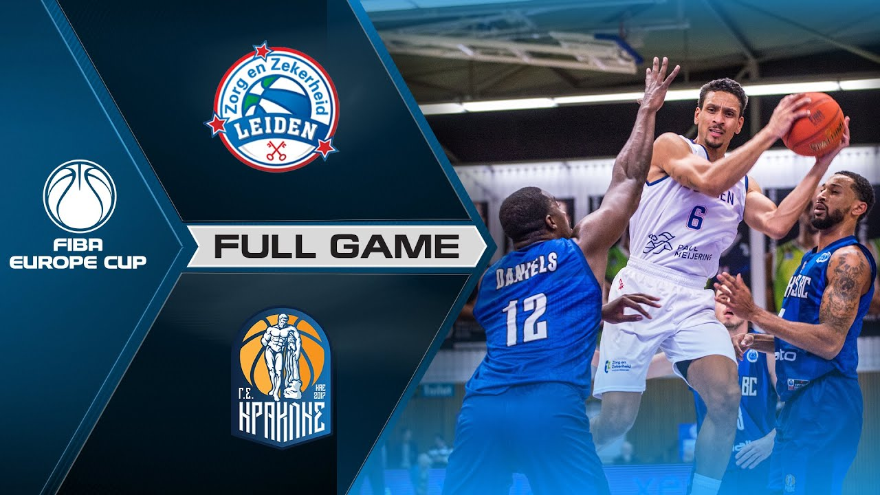 ZZ Leiden v Iraklis BC | Full Game - FIBA Europe Cup 2021-22