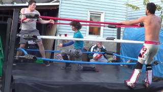 ALYVIA vs SHOWTIME BXW Beyond Extreme Wrestling funny