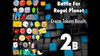 bfrp 2b create tokens results