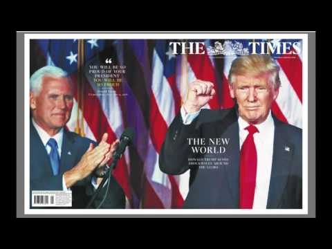 world headlines Trump Presidential Win