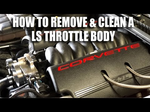 How To Remove & Clean A LS Throttle Body