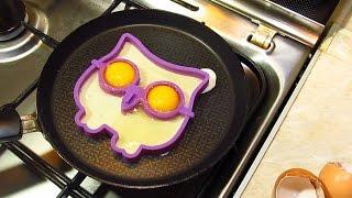 Cиликоновая форма для яичницы Сова! Форма для яиц.