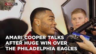 amari-cooper-talks-after-huge-win-over-the-philadelphia-eagles
