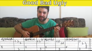 Fingerstyle Tutorial: The Good, The Bad & The Ugly Theme - Guitar Lesson w/ TAB