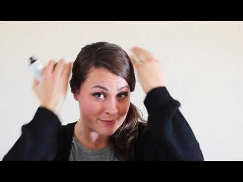 Covering Up Roots Between Hair Coloring - YouTube