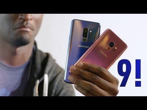 Samsung Galaxy S9 Impressions! galaxy s9