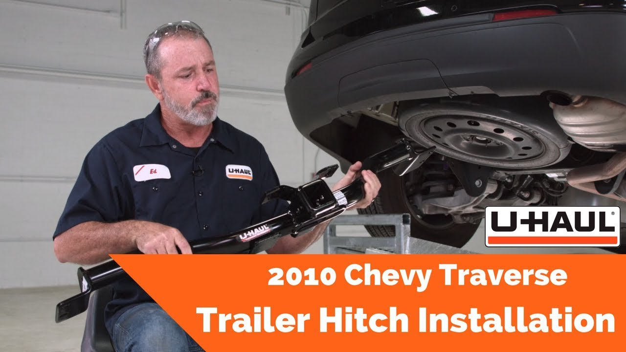 2010 chevy traverse trailer hitch installation - youtube  youtube