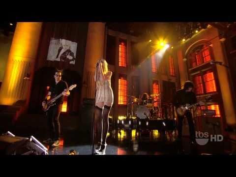 The Pretty Reckless - Just Tonight (Live@LopezTonight) HD