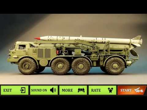 Missile Attack & Ultimate War Simulator Games 2019 - Tank Truck Android Games HD
