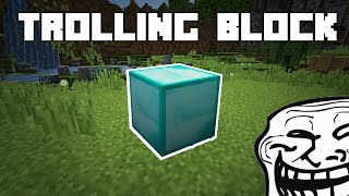 Minecraft: Trolling Block?! [120 Seconds]