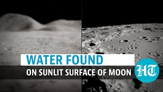 Watch: Water discovered on moon's sunlit surface using NASA's SOFIA