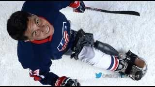 Going For The Gold: Paralympic Sled Hockey Player Rico Roman