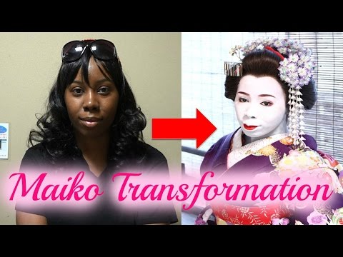 Maiko Transformation Experience in Kyoto