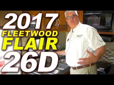 2017 Fleetwood FLAIR 26D Class A Motorhome - Holiday World RV (1-800-983-7866)