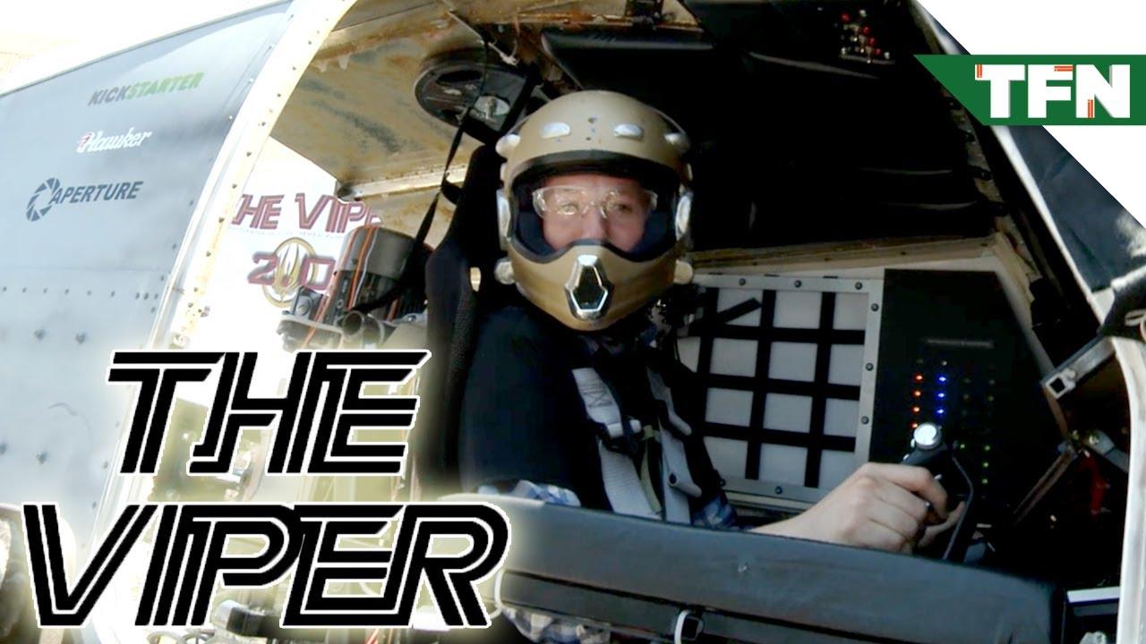 The Viper: Battlestar Galactica Flight Simulator at Maker Faire 2013