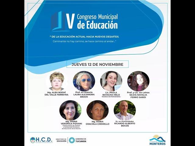 V Congreso de Educación Municipal Monteros -