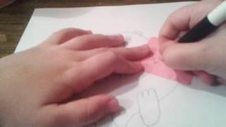 Как нарисовать красивого мишку!