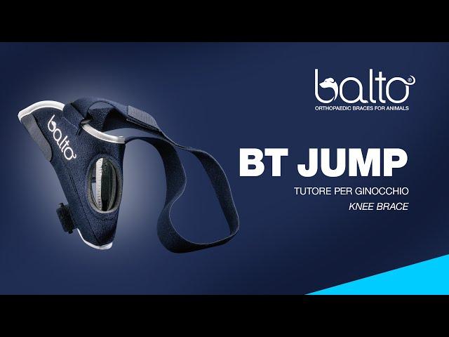 BT JUMP – TUTORE PER GINOCCHIO - KNEE BRACE
